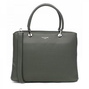 Dámska kabelka David Jones Rachel – zelená
