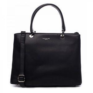 Dámska kabelka David Jones Rachel – černá
