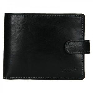 Pánská kožená peněženka Lagen Mareto – černá