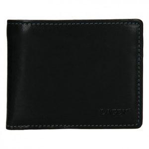 Pánská kožená peněženka Lagen Palleto – černá