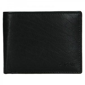 Pánská kožená peněženka Lagen Kall – černá
