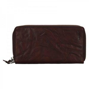 Dámská kožená peněženka Lagen Carlla – hnědá