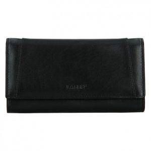 Dámská kožená peněženka Lagen Barbora – černá