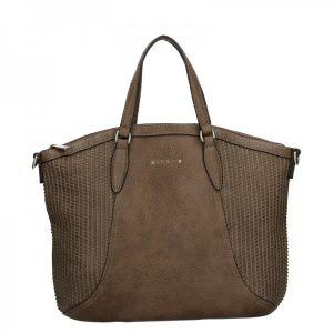 Dámská kabelka Sisley Narras – hnědá