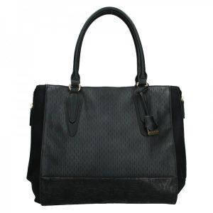 Dámská kabelka Sisley Evas – černá