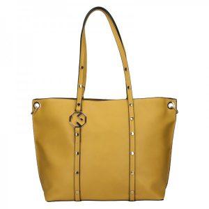 Dámská kabelka Marina Galanti Klára – žlutá