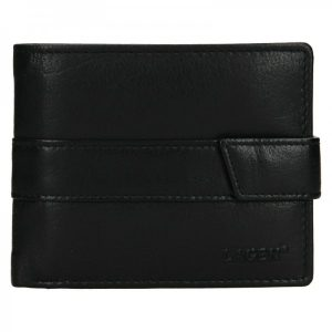 Pánská kožená peněženka Lagen Aleš – černá