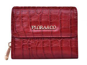 FLORA & CO Dámská peněženka X2703 Rouge