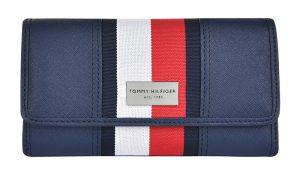 Tommy Hilfiger Dámská peněženka Th Stripe modrá
