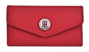 Tommy Hilfiger Dámská peněženka Th logo červená