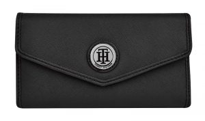 Tommy Hilfiger Dámská peněženka Th logo černá