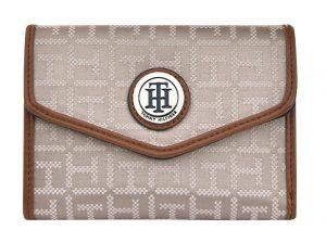 Tommy Hilfiger Dámská peněženka Th Small logo krémová