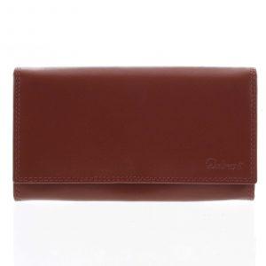 Dámská kožená peněženka červená – Delami Wandy červená