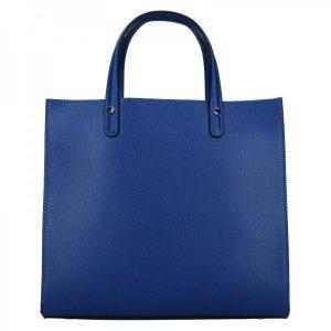 Dámská kožená kabelka Unidax Monarch – modrá