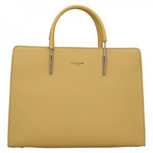 Dámská kabelka David Jones Milla – žlutá
