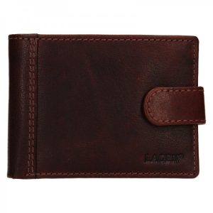 Pánská kožená peněženka Lagen Prean – světle hnědá