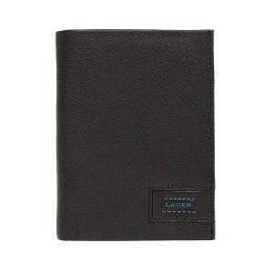 Pánská kožená peněženka Lagen Magnum – černá