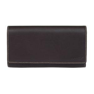 Dámská kožená peněženka Lagen Jiřina – hnědo-oranžová