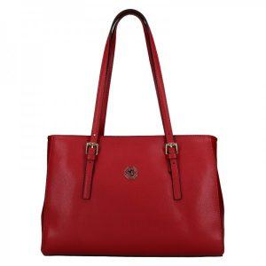 Dámská kožená kabelka Marina Galanti Chiara – červená