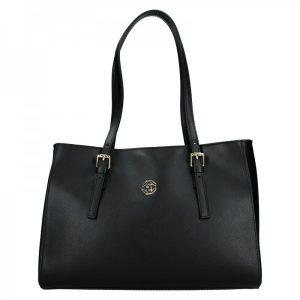 Dámská kožená kabelka Marina Galanti Chiara – černá