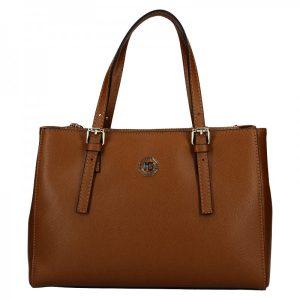 Dámská kožená kabelka Marina Galanti Giulia – hnědá