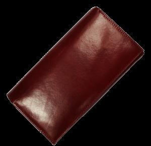 Velká červená peněženka H17 Rossa Scura
