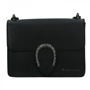 Dámská kožená crossbody kabelka Marina Galanti Arianne – černá