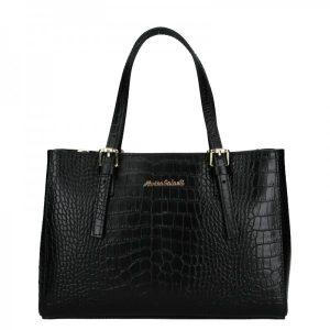 Dámská kožená kabelka Marina Galanti Federici – černá