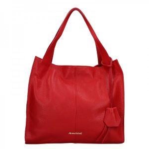Dámská kožená kabelka Marina Galanti Apolene – červená