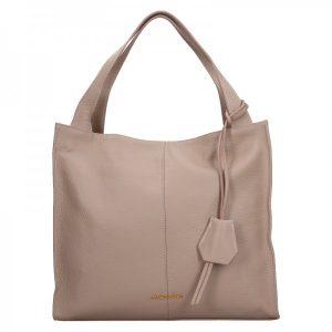 Dámská kožená kabelka Marina Galanti Apolene – béžová