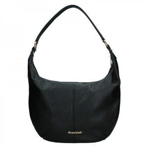 Dámská kožená kabelka Marina Galanti Simonia – černá