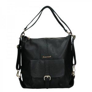 Dámská kožená kabelka/batoh Marina Galanti Alice – černá