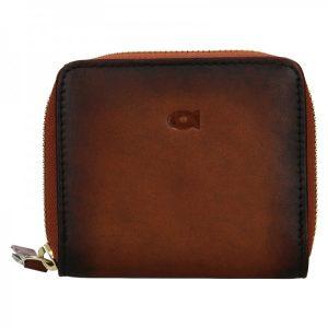 Dámská kožená peněženka Daag Brenda – koňak