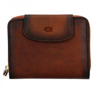 Dámská kožená peněženka Daag Miranda – koňak