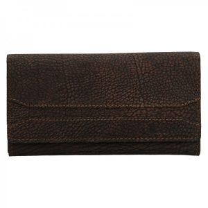 Dámská peněženka Lagen Marion – tmavě hnědá