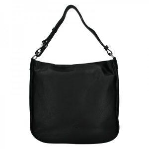 Elegantní dámská kožená kabelka Katana Jindra – černá