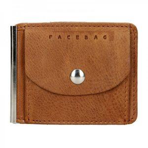 Pánská kožená dolarovka Facebag – koňak