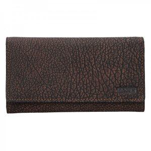 Dámská kožená peněženka Lagen Lussy – hnědá