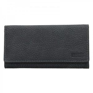 Dámská kožená peněženka Lagen Lussy – černá