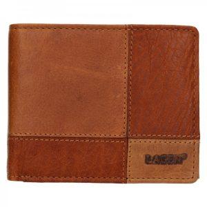 Pánská kožená peněženka Lagen Ivo – hnědá