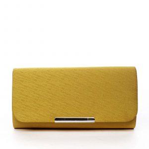 Dámské psaníčko žluté – Michelle Moon D616 žlutá