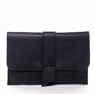 Luxusní dámská kabelka černá – ItalY Brother černá