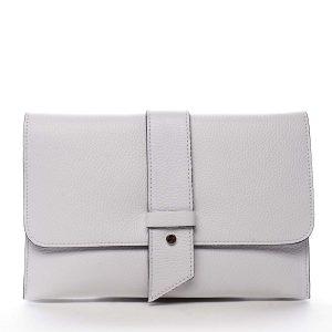 Luxusní dámská kabelka bílá – ItalY Brother bílá
