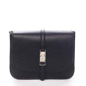 Dámská kožená crossbody kabelka černá – ItalY Neul černá