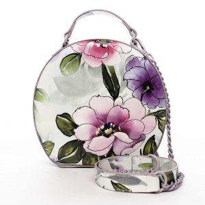 Dámská kabelka fialová – DIANA & CO Liliána fialová