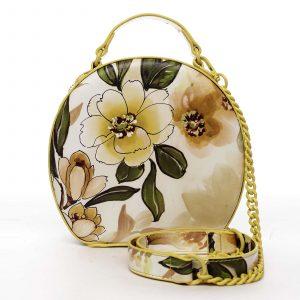 Dámská kabelka žlutá – DIANA & CO Liliána žlutá