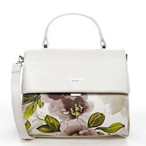 Dámská kabelka bílá – DIANA & CO Blánica bílá