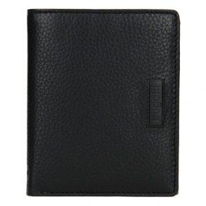 Pánská kožená peněženka Bugatti Alberts – černá