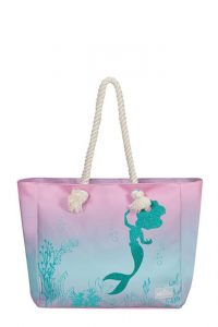 American Tourister Plážová nákupní taška Modern Glow Disney The Little Mermaid – The Little Mermaid