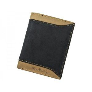 Pánská kožená peněženka Pierre Cardin Josh – černo-hnědá